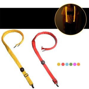 Partido piscando Led Luz alças reguláveis Comprimento puro pendurado calças cores brilham no escuro cinta enforcamento de Ar Livre Sports15 5GL E1