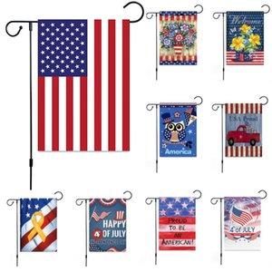 New Trump Garden Bandeira Para O Presidente Fazer América Grande Novamente EUA Festa de Aniversário Decoração Bandeiras de Aniversário EUA DHL SHip WX9-1437