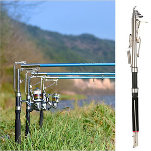 2.1 / 2.4 / 2.7m automatico da pesca dispositivo Rod Sensitive telescopica canna da pesca Rod Sea Glass Ice fibra di Carp Fishing Tackle de Pesca