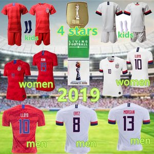 남성 여성 아이들 축구 기독교 펄시 틱 유니폼 Alex Morgan Julie Ertz Megan Rapinoe Press Lloyd Heath Yedlin Dempsey Altidore 축구 시어