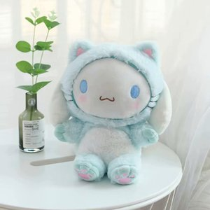 1pc my melody cosplay cat my melody stuffed plush bags toys cinnamoroll plush purses for girls gifts
