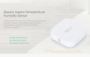 الأصلي Aqara درجة الحرارة الرطوبة الاستشعار اللاسلكية زيجبي تلقائيا إنذار عن بعد جهاز تحكم المنزل الذكي