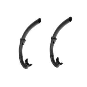 2x Dry Snorkel Adult-Scuba Diving with Splash Guard and Top Valve,Freediving Snorkeling Swimming for Adults and Youth