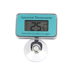 Aquarium contrôleur de capteur Thermomètre écran LCD intelligent de température du poisson d'eau Aquariums poisson fournitures pour animaux Réservoir Terrarium Alarme Pe
