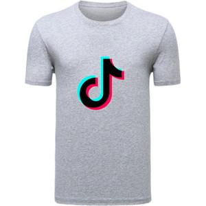 SOUTEAM Männer Frauen Multi-Muster Persönlichkeit Printing Rundhals T-Shirt T-Trend lose kurzen Ärmeln Paare Drucken