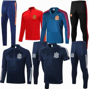 Survetement Survêtements 2018 2019 2020 2021 Espagne ensembles de football Survêtement hoodies formation football veste ensemble