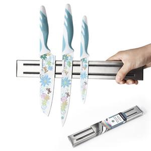 Supporto magnetico per coltello Supporto a muro in acciaio inox Supporto a muro per cucina Supporto per utensile magnetico per coltelli DH1119