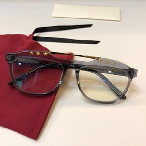 النظارات الجديدة إطار 0615 النظارات النظارات الإطار لإطار الرجال النساء قصر النظر نظارات عدسة واضحة مع حالة الأصلية