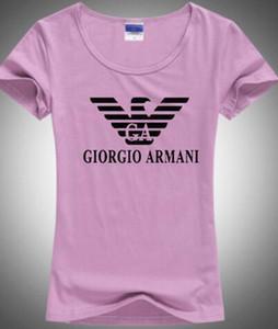 2020 NEW قص خربش طباعة ARM طباعة النساء تي شيرت عارضة O-الرقبة المرأة تي شيرت تصميم المرأة الجديدة المحملة قمصان حريرية إلكتروني الحريرية 0A