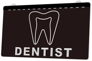 LS1094 0 стоматолог зубная больница RGB многоцветный пульт дистанционного управления 3D гравировка LED неоновый свет вывеска магазин бар паб клуб