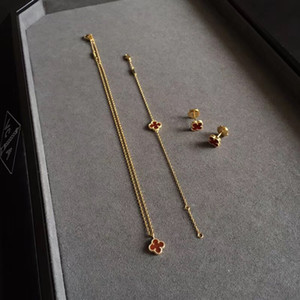 Luxuriöse Qualität S925 Sterling Silber Mini-Blumen-Anhänger Halskette mit der Natur weißer Schale für Frauen Hochzeitsgeschenk Schmuck-Set fällt Shippi