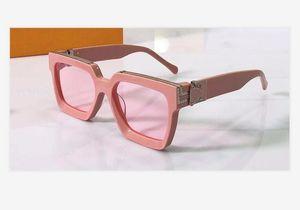 Novo milionário 1.227 homens óculos escuros homens sol óculos mulheres óculos de sol estilo de moda protege os olhos Óculos de sol lunettes de soleil com caixa