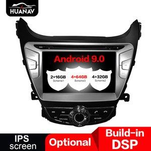 Car DVD Player For Hyundai Elantra(MD)2011 2012 2013 Avante GPS navigation 2 din radio 8'' IPS stereo Android 8.1 4+32GB