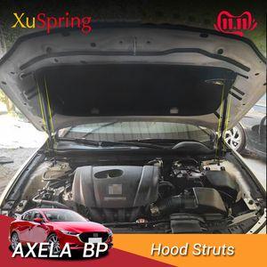 Para Mazda3 Mazda 3 Axela 2019 2020 BP Motor Car tampa capa Primavera Choque suporte hidráulico Rod Strut Bares nenhuma perfuração / Soldagem