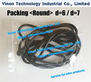 EDM Печать упаковки Круглого D = 7мм, 3031972,3536532,3031666,0215493 натриевого Tank уплотнения полоса 7мм для слайдов плиты (цена единицы товара продаются в метрах)
