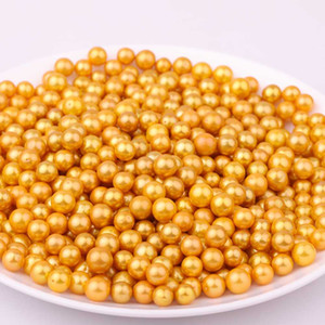 Venta al por mayor Mix Colors 7.5-11mm Redondo amarillo Edison Loose Pearls DIY Accesorios de joyería Regalo para mujeres Pearl Party Envío gratis