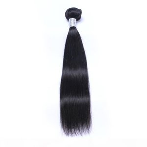 Brazilian Virgin Human Hair Straight Unprocessed Remy Hair Weaves Double Wefts 100g Bundle 1bundle lot Can be Dyed Bleached