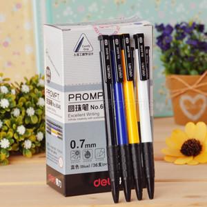 Toptan 4 adet / set Tıklama türü Tükenmez Kalem 0.7mm Klasik Okul Büro İşaret Sınav Business Kalite malzemeleri Smooth