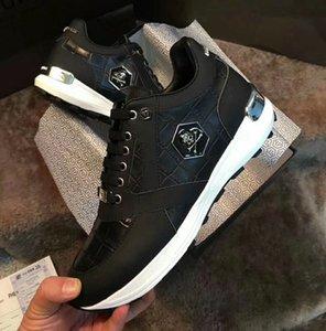 2020 de alta gama para hombre del diseño de moda casual para hombre zapatos para hombre de la calle de piel de serpiente de taro de plataforma zapatos de boda zapatos de hombre planas con cordones de zapatos bailan J3