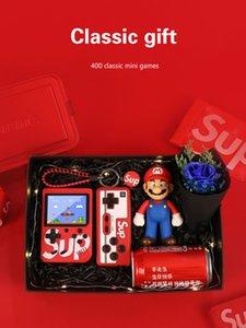 novio regalo de cumpleaños de niño marido descompresión sorpresa de dispositivos de juego portátiles Memorias de la niñez 400 in1 de San Valentín