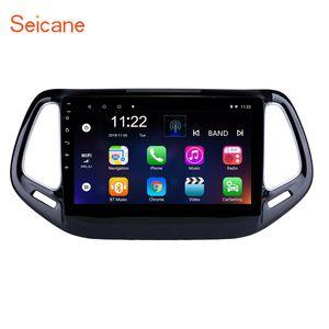 Rádio Seicane 2GB ROM 32GB Car Multimedia Player Android 10.0 10.1 polegadas para 2017 Apoio GPS DAB + DVR carro dvd USB