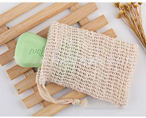 DHL 9 * 14 centímetros fazendo bolhas de sabão Saver Sack Soap Pouch Soap armazenamento saco com cordão Titular Suprimentos Banheira Banheira Suprimentos WC NND