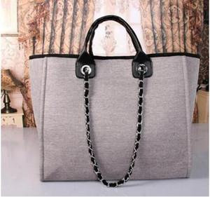 yeni moda büyük kapasiteli taşıma çantası, omuz çantası tuval. ücretsiz teslimat, SICAK Zinciri çantası