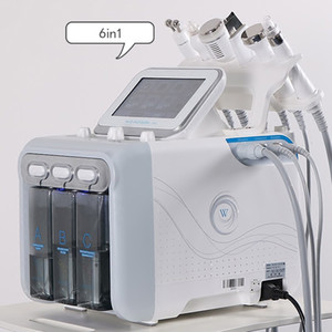 6in1 Hydrafacial Skin Care Face Cleaner Hydro Peeling Skin Rejuvenation Face Lift Blackhead Remover Dermabrasion Machine