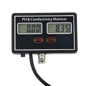 Online PH EC Conductivity Monitor Meter Testers for Aquaculture Pond Water Quality MYDING