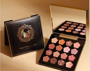 Новая Пандора греческие тени для век 16 цвет жемчуг свет блестки тени для век блюдо больше не летать розовый темперамент девушка макияж
