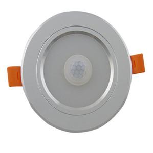 20pcs 7W 15w incasso Led Lampada da soffitto del sensore di movimento a microonde Radar luce scale Portico Passageway illuminazione Downlights in alluminio