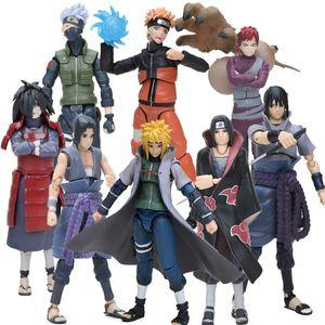 15cm Box Figurine Sasuke Naruto Namikaze Minato Hatake Kakashi Action Figures Naruto Collectible Figure Toys brinqudoes bebe Y200421