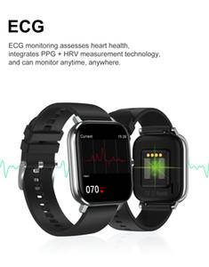 Fitness Tracker DT35 Smart Watch 1.54 inch Full Touch Screen IP67 Waterproof ECG Health Smart Bracelet Bluetooth Call Heart Rate