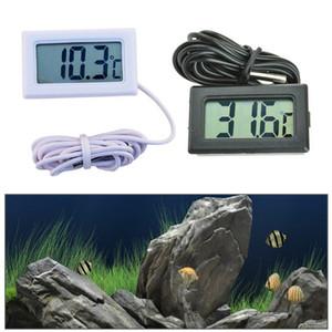 Digital LCD Screen Thermomètre Réfrigérateur Réfrigérateur Congélateur Aquarium FISH TANK Température -50 ~ 110C GT Noir Blanc Couleur