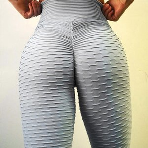 Drop Shipping Sexy Yoga Pants Sport Leggings High Waist Push Up Fitness Slim Gym Running Tights Black Workout Yoga Leggings