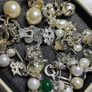 inci moda çember cc küpe kutusu I DO ile Bride için bayan Kadınlar Partisi düğün severler hediye nişan takı için Orecchini aretes