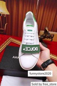 2019 Mode grün Kleine weiße 201002 Männer Kleid Mokassins Loafers Schnürer Monk Straps Boots Treiber Echtleder-Turnschuhe Schuhe