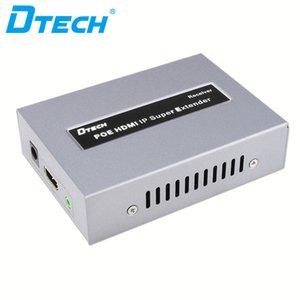 enchufe de control remoto IR populares elemento y reproducir vídeo emisor receptor de cable 120m LAN IP HD 1080P HDMI extensor POE