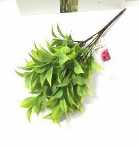 همية مقلد اللحاء CHINENSIS الزهور البلاستيكية وزراعة الخضراء مطعم ممر قص قبالة تركيبات زهرة 20PCS / الكثير WL215