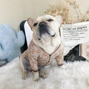 Haustierhundekleidung Pullover Kragen Kleiner Hund Tide Haustier Bixiong Kitty Kleidung Hunde Kern-gesponnenes Garn Strickjacke XD22685