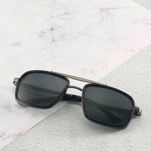Excellent Quality Fashion Designer Sunglasses Semi Rimless Sun Glasses For Mens ray Womens Gold Frame Green G15 ban Glass Lenses With Cases
