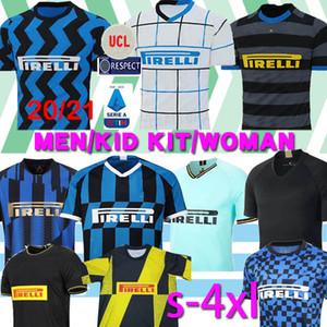 Tailandia ALEXIS Lukaku LAUTARO SKRINIAR Inter Milán 2019 2020 2021 camiseta de fútbol Calcio GODIN Barella jerseys 2019 camisas superiores de fútbol 2020