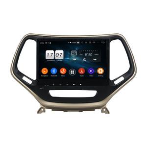 HD 10.1 بوصة 8 الأساسية PX5 الروبوت 9.0 4G سيارة دي في دي راديو رئيس وحدة لجيب شيروكي 2016-2017