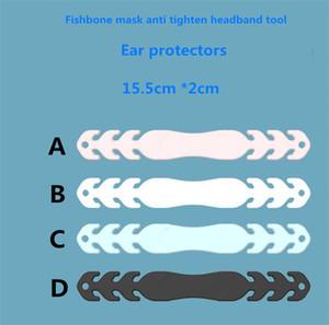 mascarar ajustando tampa da cabeça evitar estrangulamento gancho linha de extensão descompressão ouvido protetor auricular gancho de costura 7054