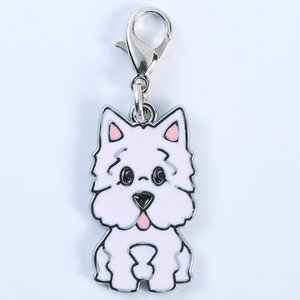 260 Pieces Lot Metal Keychain Dog DIY Pet Dogs Key Chains Dog Tag Fashion Jewelry Pet Accessories Keychain Gift Keyrings