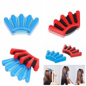 Capelli Braider Braid Stylist spugna Accessori Donna Plait Capelli Twist Hair Styling intrecciatura che designano gli attrezzi 300pcs DHL libero