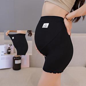 8047 # Thin 3/10 maternité Hot Legging été haute taille du ventre Shorts Pantalons Vêtements de sécurité pour Femmes enceintes Preganncy Corsaire