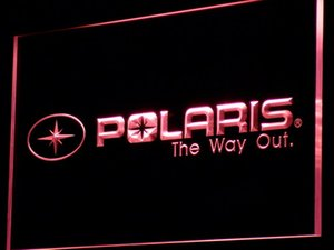 d142 Polaris Snowmobile LED Neon Light Signs with On Off Switch 20+ Colors 5 Sizes to choose