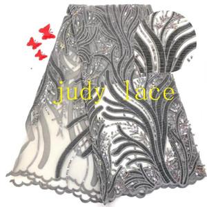 5yards / мешок RFJ31 # 8-цветная лазерная вышивка ламинированной ткани блесток ствол дерева шаблон вышивка на свадебном платье этапа моды