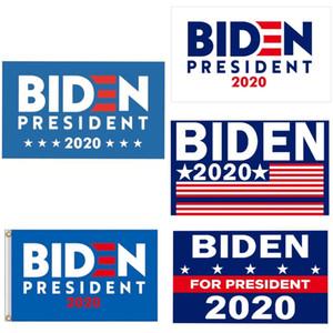 90 * 150cm Donald Biden Bandeira de América Presidente Eleição bandeira Biden 2020 Exquisite bandeira adesivo de carro Publicidade Adesivos Hha327 # 137